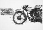 'motorbike art' 'motorcycle drawing' 'motorbike pencil drawing' pencil drawing motorcycle art
